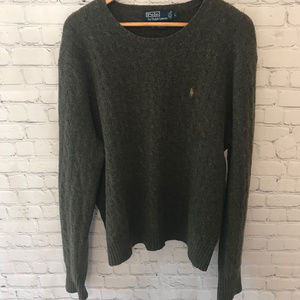 Polo by Ralph Lauren Lambs Wool Crewneck Sweater